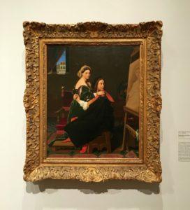 Ingres Raphael and La Fornarina