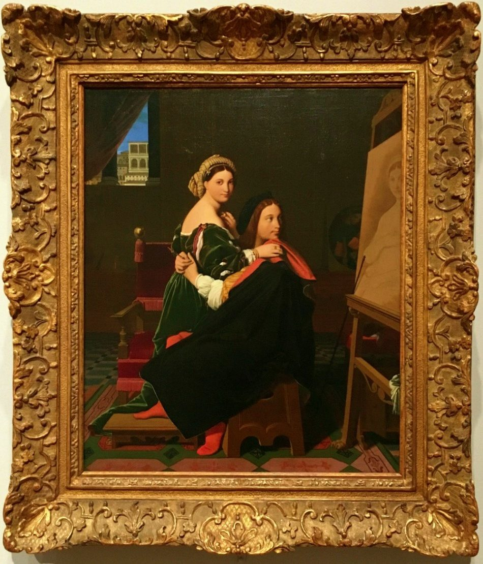 Ingres Raphael and La Fornarina