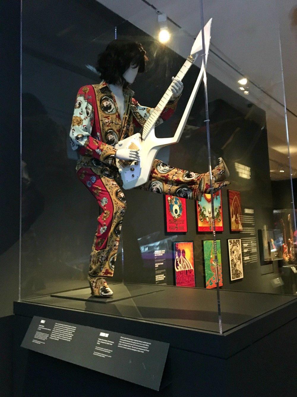 MET Rock & Roll Exhibit